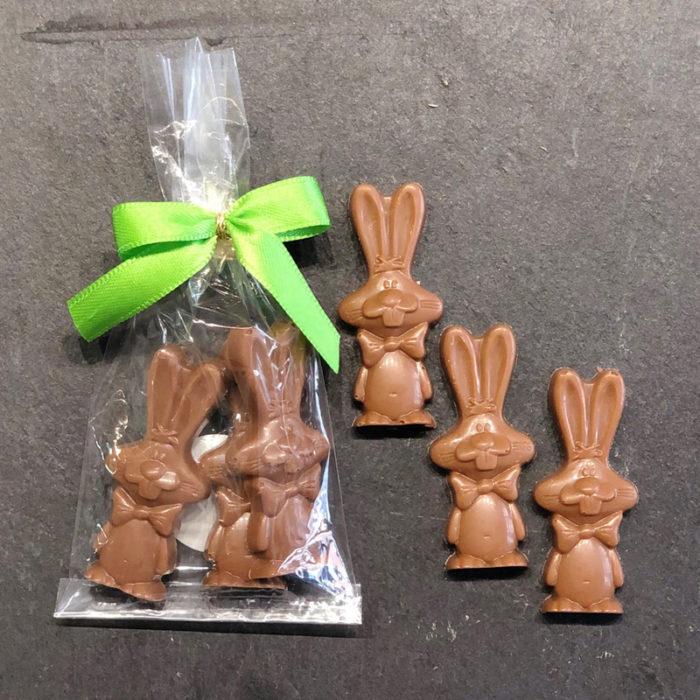 Oster-Schokoladenhaeschen-Vollmilch aus der Konditorei Abessa aus Lübeck