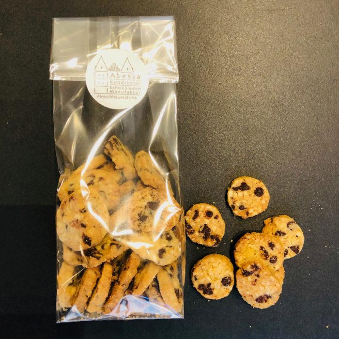 Schoko-Nuss-Keks von Abessa in Lübeck