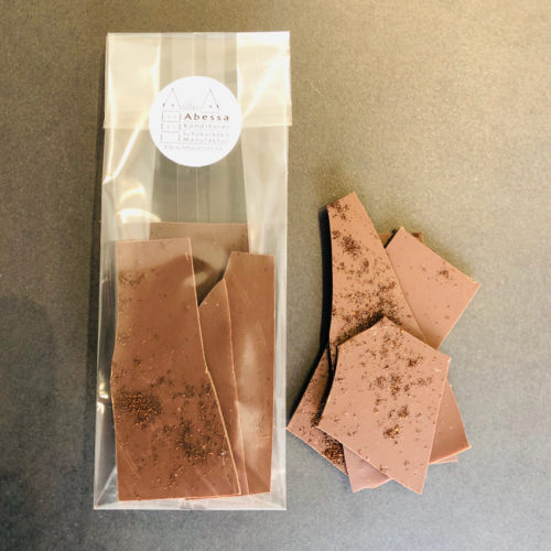 Zartbitterschokolade 60% mit Kaffee von Abessa aus Lübeck